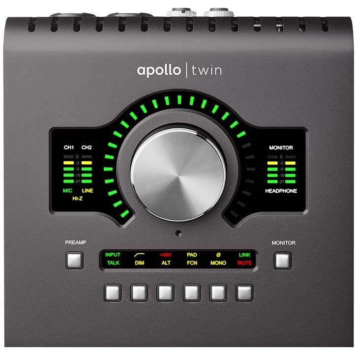 Apollo Twin MkII w/ UAD-2 DUO Core Processing