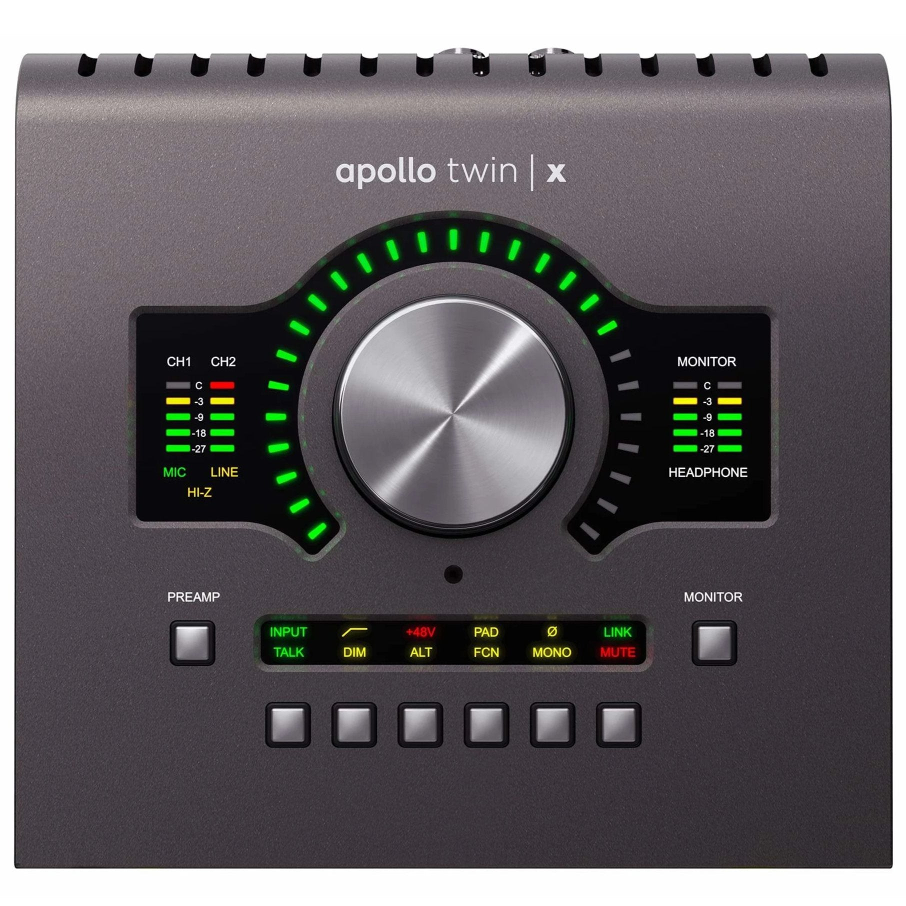 Apollo Twin X w/ QUAD Core realtime UAD Processing