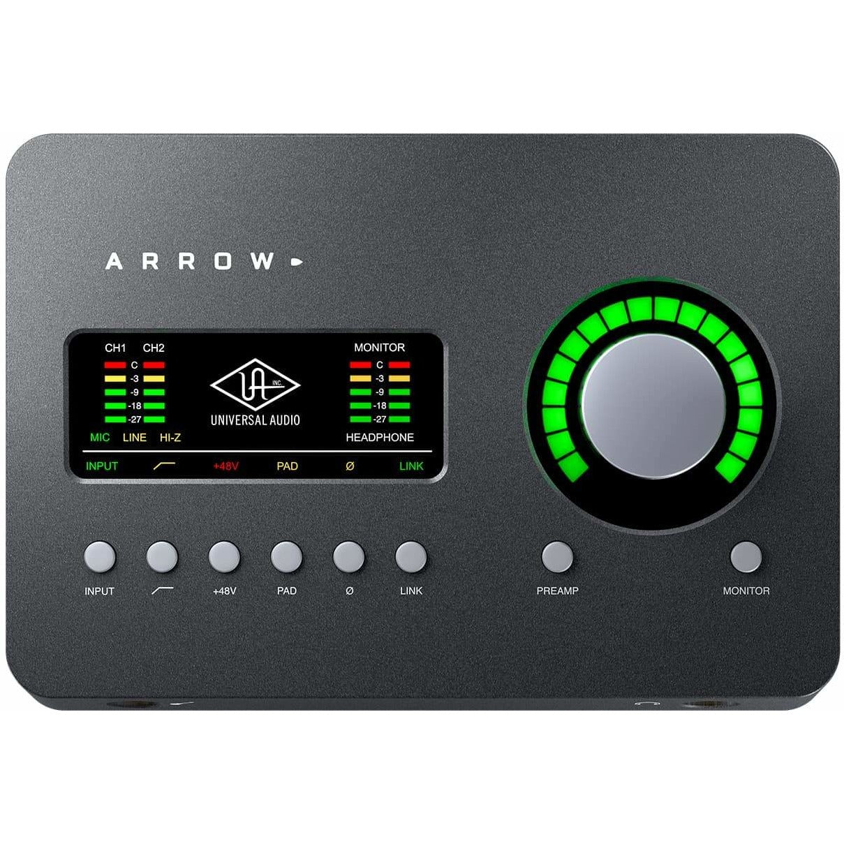 Arrow w/ UAD-2 SOLO Core processor