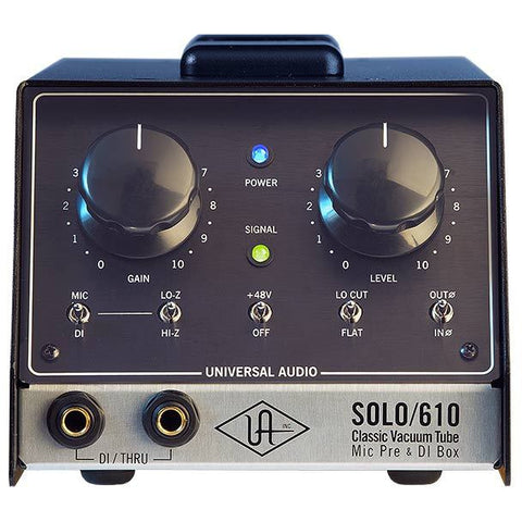 SOLO/610 Classic Tube Single Channel Mic Pre