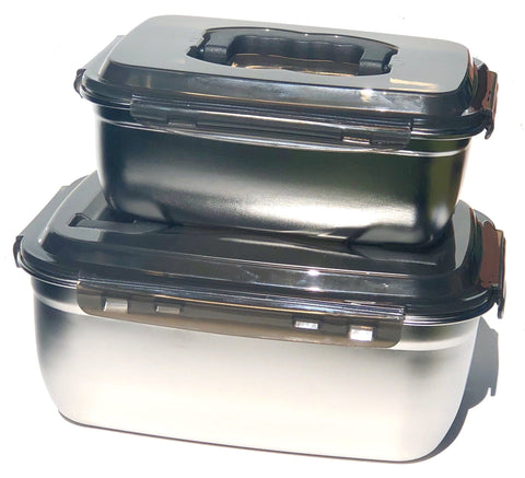 Jumbo Containers Big Capacity for Storage and Organizing Snap on Lids Airtight and Leakproof Containers  stanley Loves it great for fishing hunting Rvs Camping Fermentation of foods odor repellent easy to clean and wash