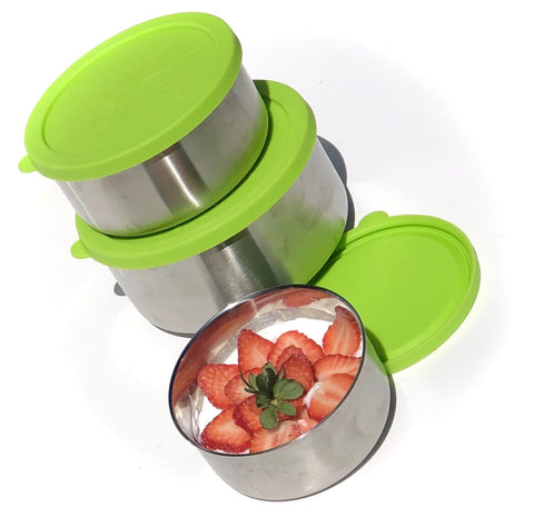 Image of Stainless Steel Lunch Containers For Kids  Toddlers BPA  FREE Plastic FREE Zero WASTE  LIfeStyle