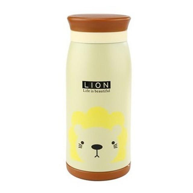 Thermos Water Bottle for Children Student Cute Stainless Steel BPA FREE
