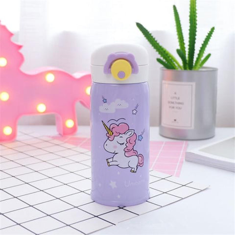Image of Stainless Steel Thermos Unicorn 350ml /20oz and 500ml/19oz