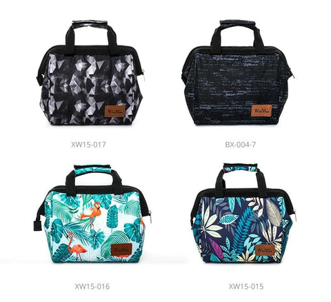 Image of Lunch Box Fashion Prints Thermal and insulates Material. Great for a Lunch to go in Style