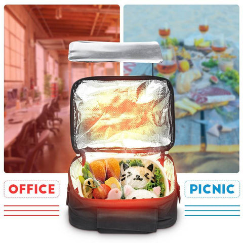 Mini Personal  Oven Lunch Box - Instant Food Heater / Warmer