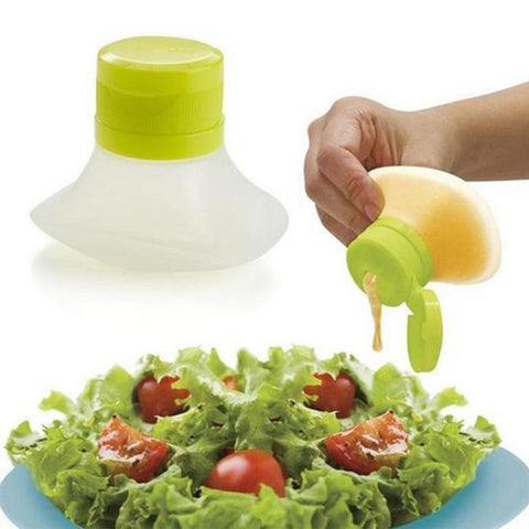 Image of Dressing Squeezer portable and easy to squeeze take your sauces and dressings with you