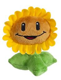 plants vs zombies sunflower plush toy