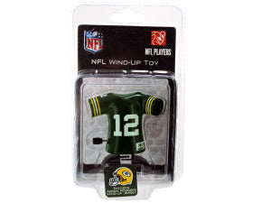 Green Bay Packers Aaron Rodgers wind-up toy - Toys 'N' The Attic