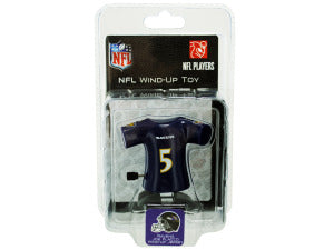 Baltimore Ravens Joe Flacco wind-up toy - Toys 'N' The Attic