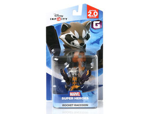 Marvel Rocket Raccoon Disney Infinity 2.0 Figurine - Toys 'N' The Attic