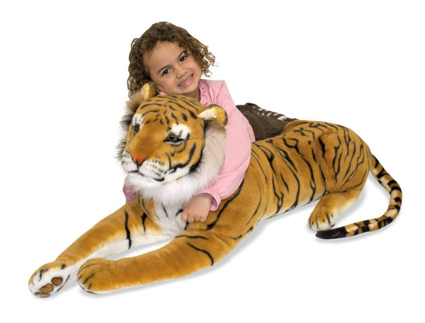 large tiger toy