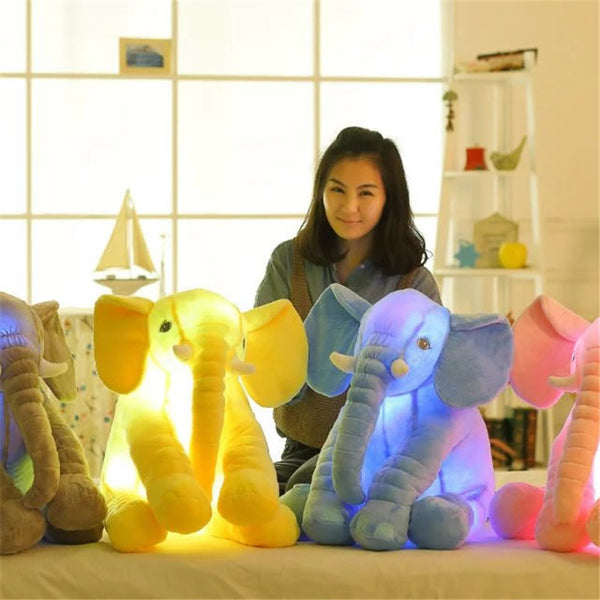 Soft appease be Luminous Elephant Playmate Doll - Toys 'N' The Attic
