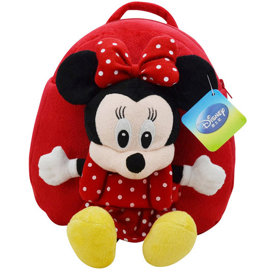 Disney Backpack School Bag Plush Toys