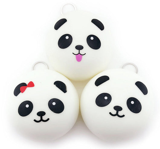 Cute Doll Accessories 10cm Panda Buns Bread Charms Key Bag Cell Phone Panda pendant Plush toys for children kids #YL - Toys 'N' The Attic