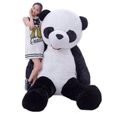 large plush stuffed panda doll