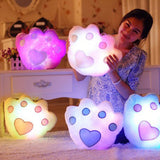 Star Light Pillow With LEDs