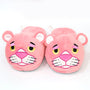 Cartoon Cute The Pink Panther Plush Slippers Soft Stuffed Toy Doll Home Indoor Shoes 28cm - Toys 'N' The Attic