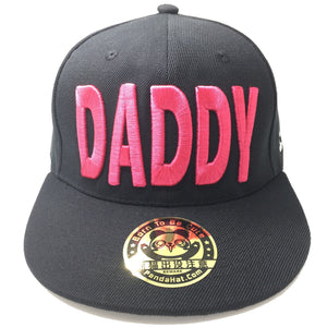 DADDY 3D PUFF EMBROIDERY SNAPBACK HAT