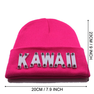 KAWAII BEANIE IN PINK