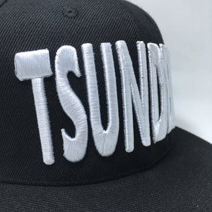 TSUNDERE 3D PUFF EMBROIDERY SNAPBACK HAT