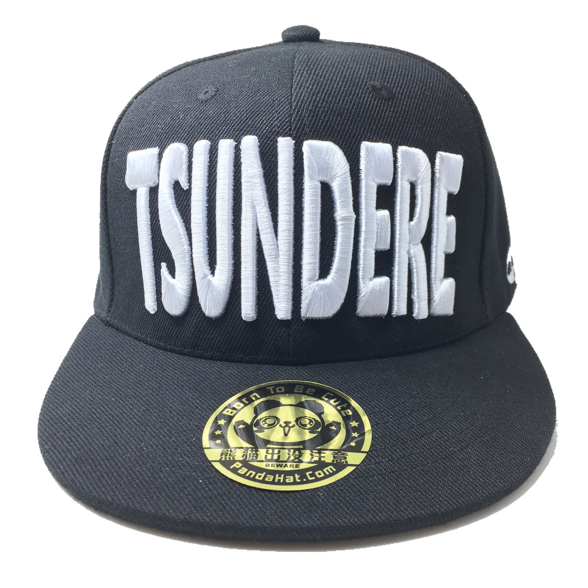 TSUNDERE PUFF EMBROIDERY HAT