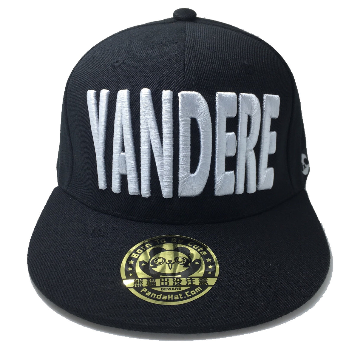 YANDERE 3D PUFF EMBROIDERY SNAPBACK HAT