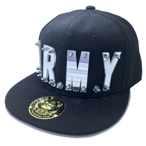 A.R.M.Y HAT IN BLACK