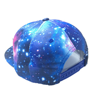 HAREM HAT IN GALAXY BLUE