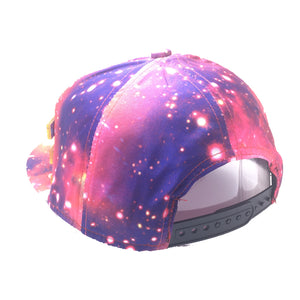 LOLI HAT IN GALAXY RED