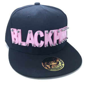 BLACKPINK HAT IN BLACK