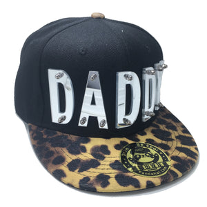 DADDY HAT BLACK LEAPORD LEFT