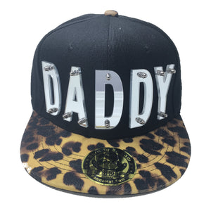 DADDY HAT BLACK LEAPORD