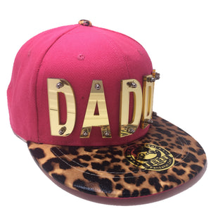 DADDY HAT PINK LEAPORD