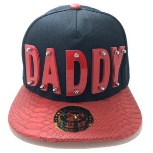 DADDY HAT IN RED