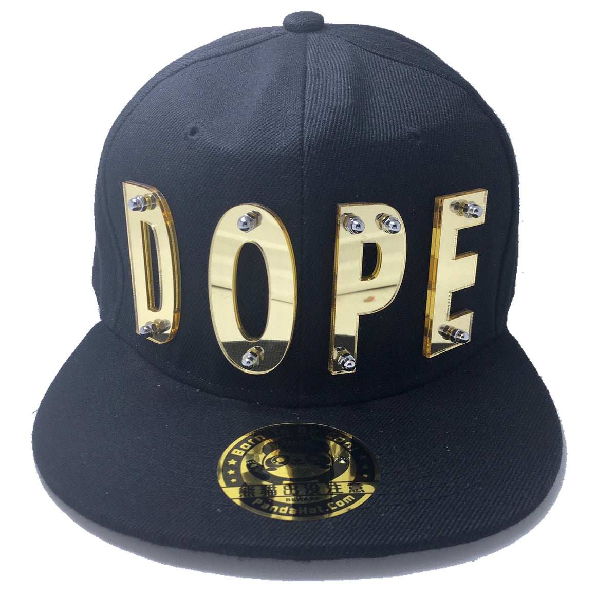 DOPE HAT BLACK GOLD