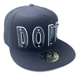 DOPE HAT IN BLACK