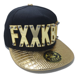 FXXKBOY HAT GOLD LEFT