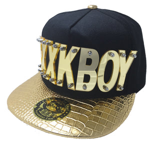 FXXKBOY HAT GOLD RIGHT