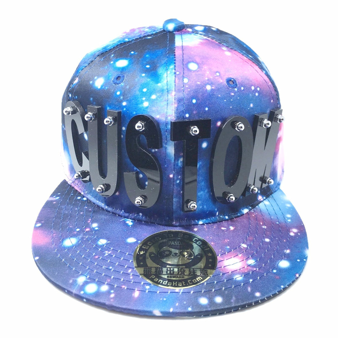custom galaxy hat