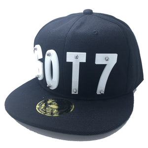 GOT7 HAT IN BLACK