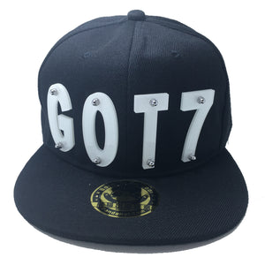 GOT7 HAT WHITE