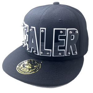 HEALER HAT IN BLACK