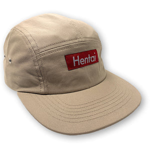 HENTAI 5 PANEL HAT WITH SNAP CLOSURE