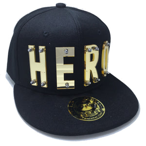 HERO HAT BLACK LEFT