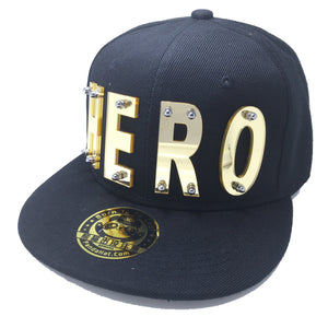 HERO HAT BLACK RIGHT