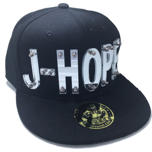 J-HOPE HAT IN BLACK
