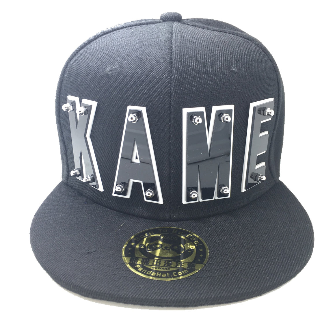KAME HAT IN BLACK