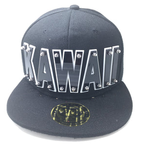 KAWAII HAT BLACK