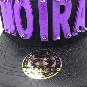 MOIRA HAT IN BLACK